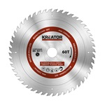 Kreator körfűrészlap 254 mm 60 fog MULTI-USE  KRT020505
